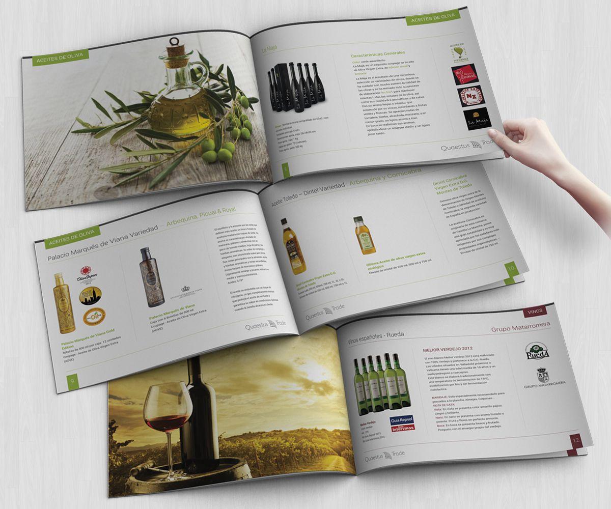 Mẫu thiết kế catalogue rượi - báo giá thiết kế catalogue