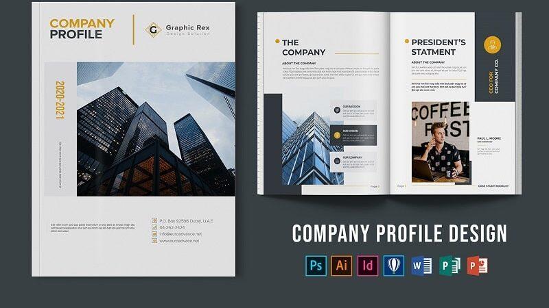 Thiết kế hồ sơ năng lực công ty đẹp và chuyên nghiệp