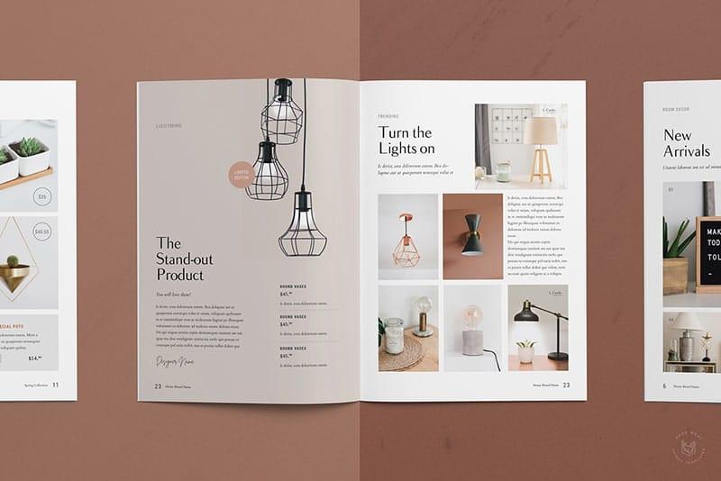 Báo giá thiết kế catalogue kèm in catalogue.