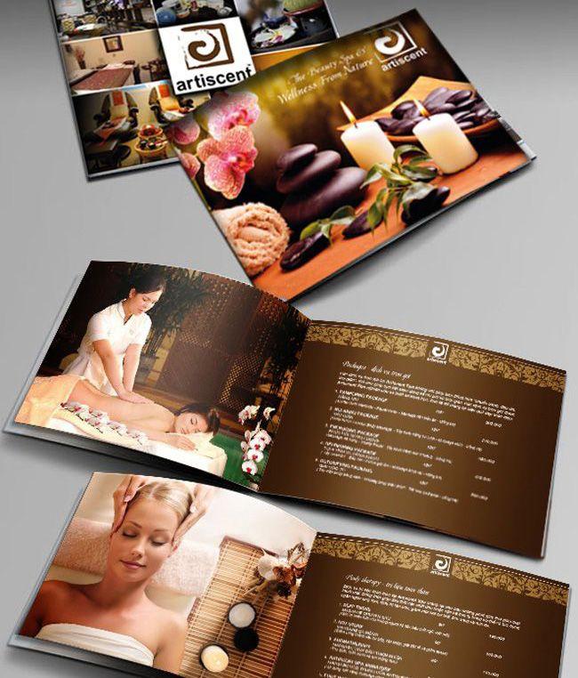 Thiết kế catalogue spa đẹp và ấn tượng