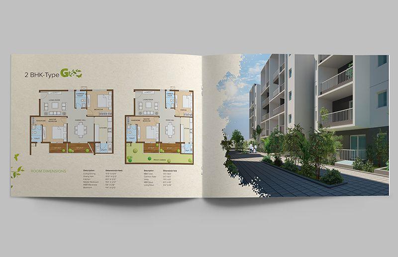 Thiết kế catalogue bất động sản với hình ảnh đẹp
