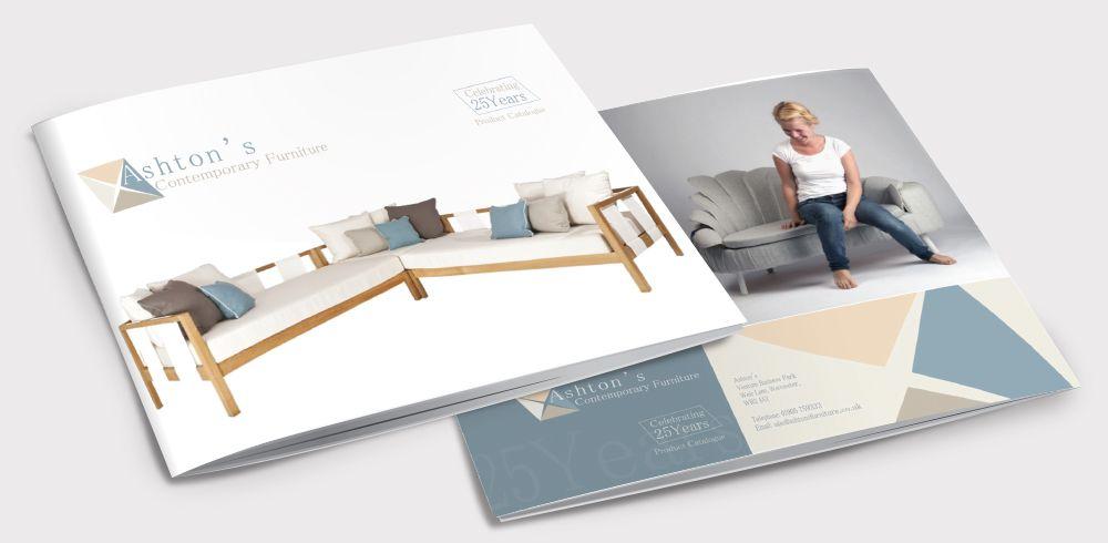 Professional catalog design - furniture catalog
