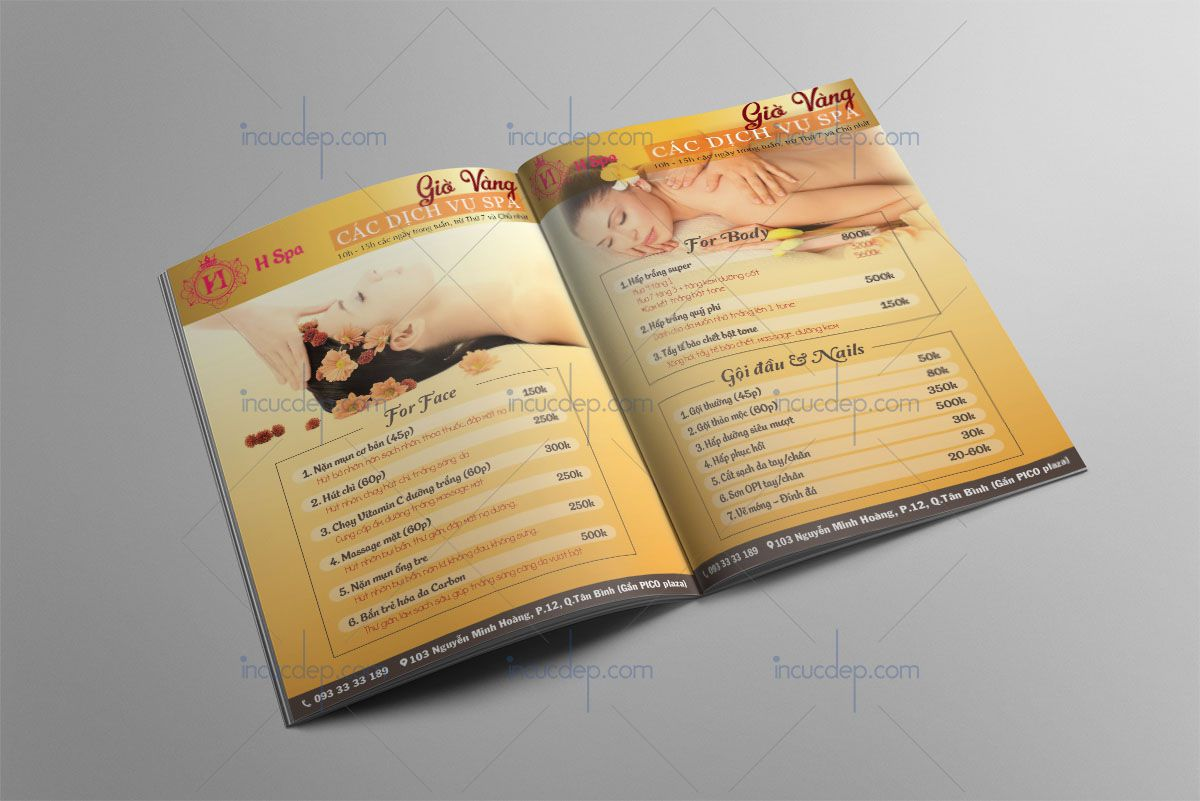 In ấn & thiết kế catalogs trọn gói nhanh rẻ đẹp