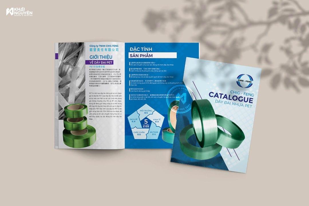 Dịch vụ in ấn catalogue nhanh rẻ đẹp