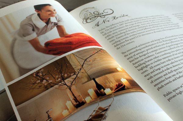 Làm catalog khách sạn thể hiện sự chuyên nghiệp của nhà hàng