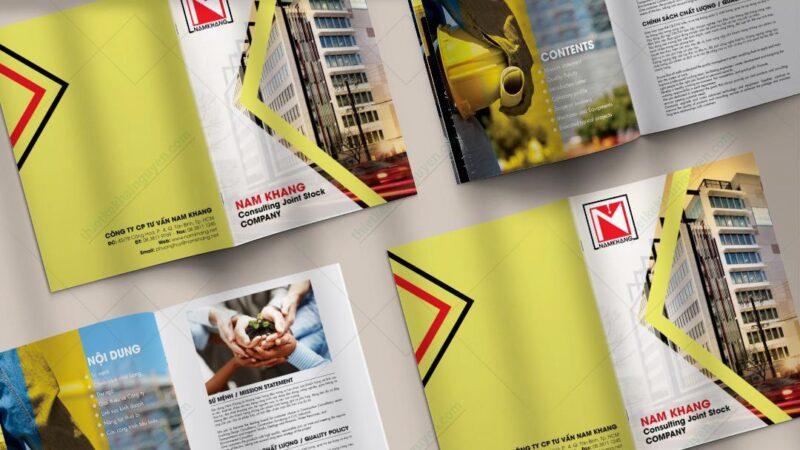 thiết kế catalogue bất động sản chuyên nghiệp
