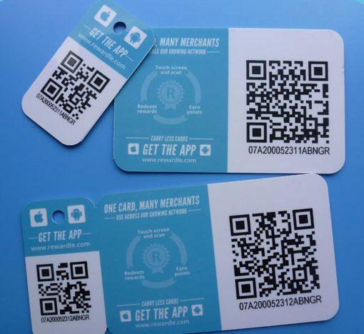Làm thẻ VIP giá rẻ - thẻ VIP với QR-Code