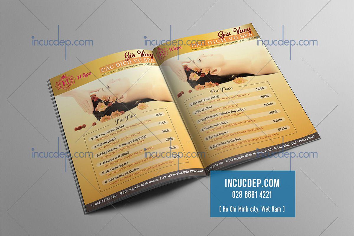 Thiết kế menu đẹp & phong cách