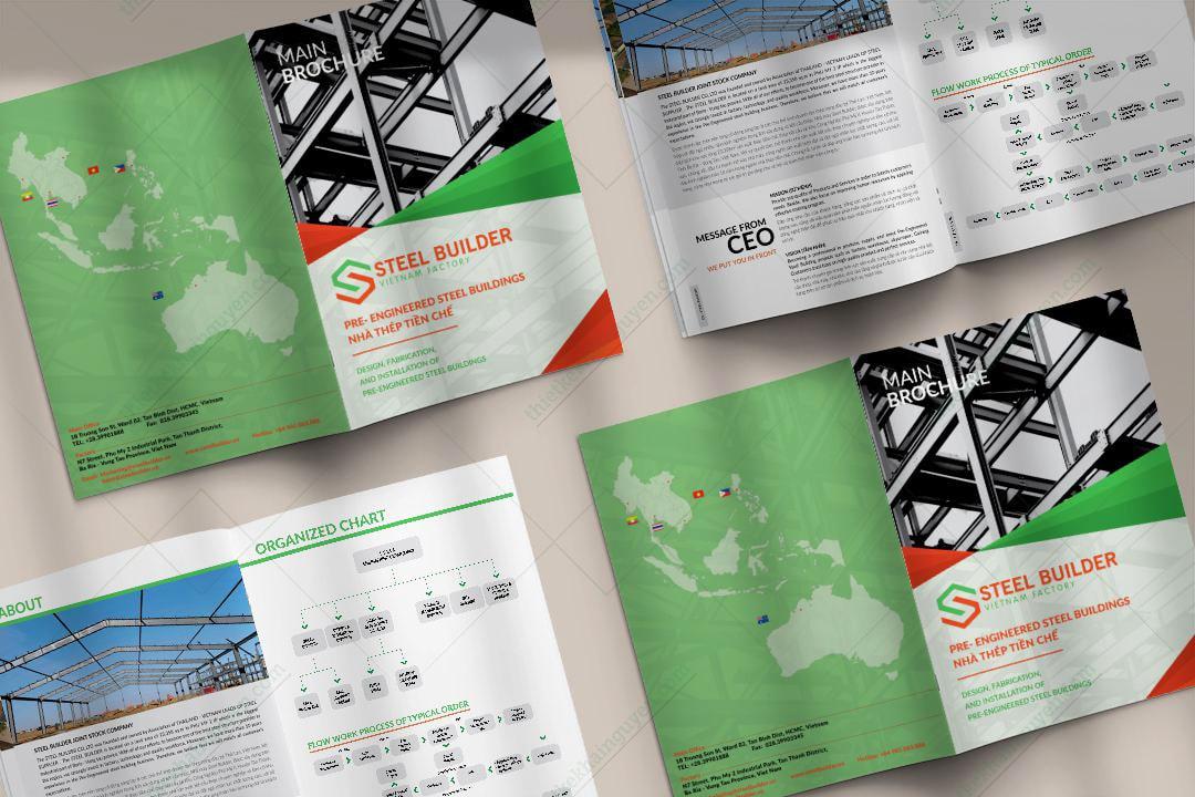 Thiết kế catalogue nhanh chóng hiệu quả cao