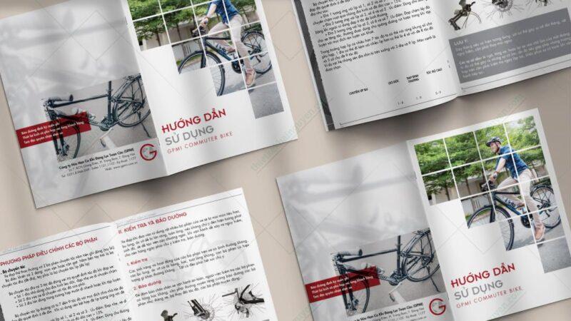 Quy cách đóng cuốn catalogue, brochure, profile