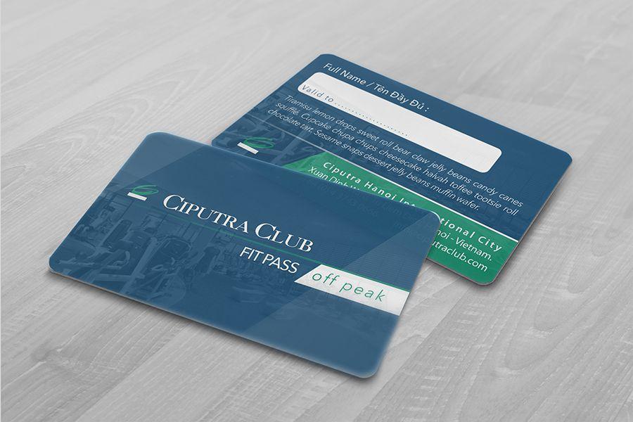 In thẻ thành viên cao cấp bằng thẻ nhựa cứng