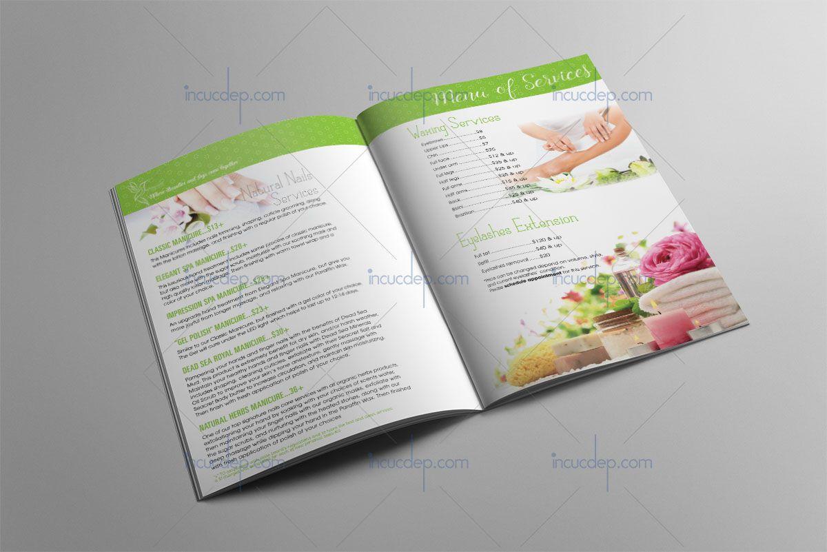 Thiết kế catalogue Spa đẹp để thu hút thêm khách hàng