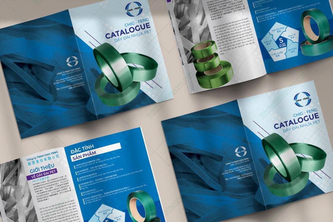 Thiết kế catalogue đẹp – tạo ấn tượng tốt cho khách hàng