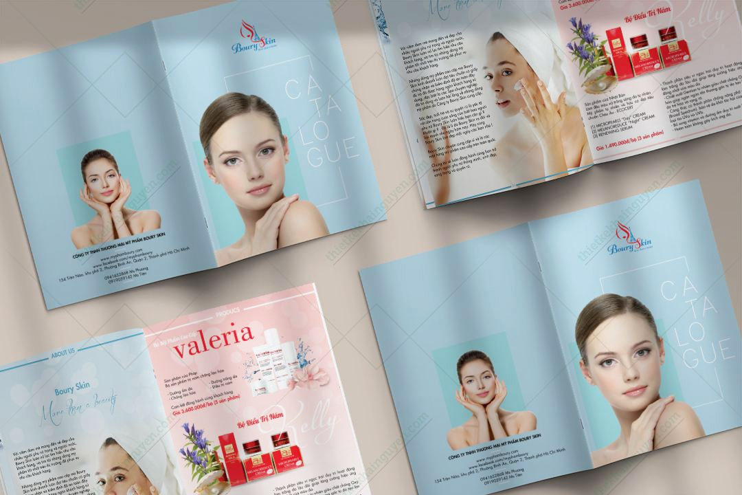 Thiết kế in ấn catalog nhanh rẻ đẹp