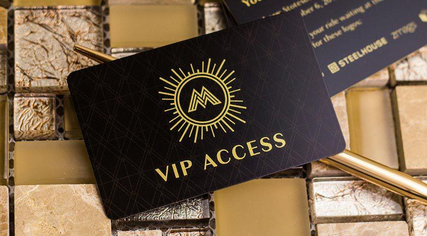 In VIP Card chất lượng cao bằng công nghệ in thẻ nhựa
