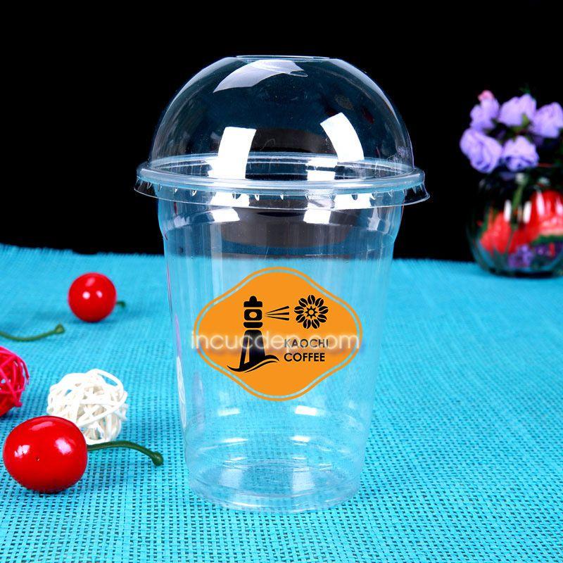 In logo dán ly nhựa giá rẻ bằng nhựa trong