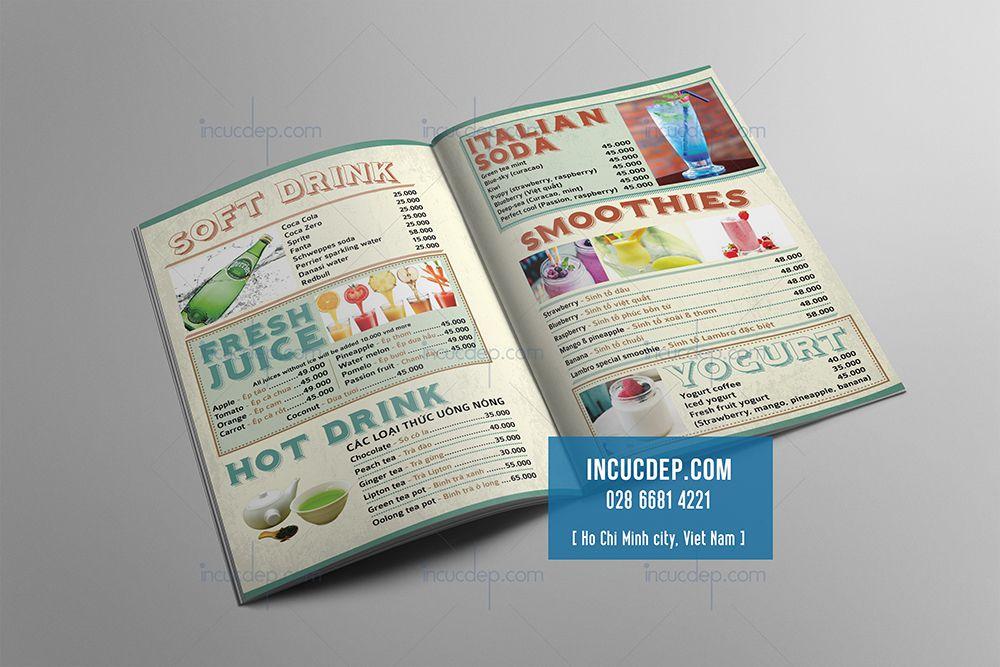 Phong cách thiết kế thực đơn cổ điển vintage là gì?