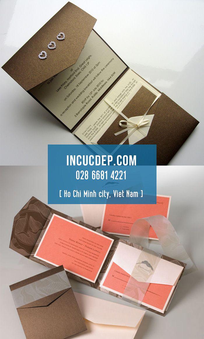 Thiết kế & in thư mời hội nghị - giấy mời hội nghị