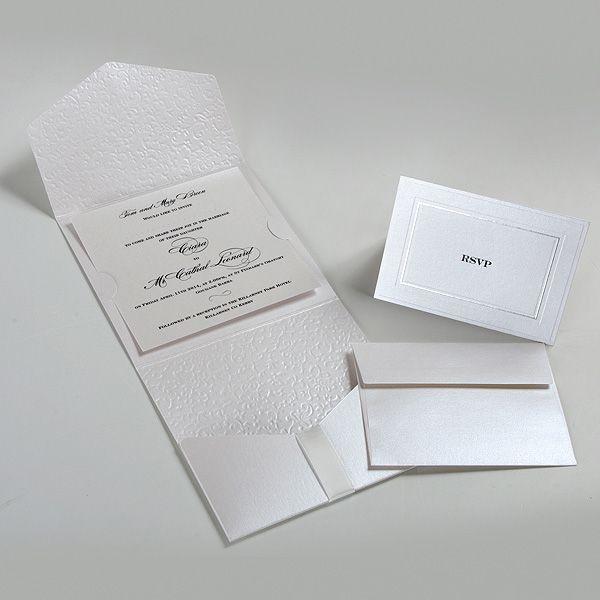 In thiệp mời gấp 3 bằng giấy mỹ thuật