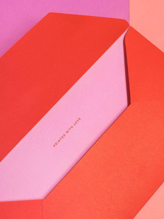 In bao thư đẹp chất lượng cao màu đỏ