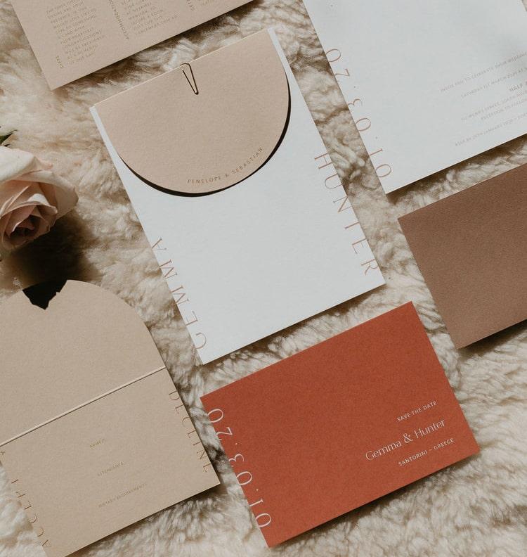 Mẫu thiết kế & in ấn thiệp mời sự kiện đẹp