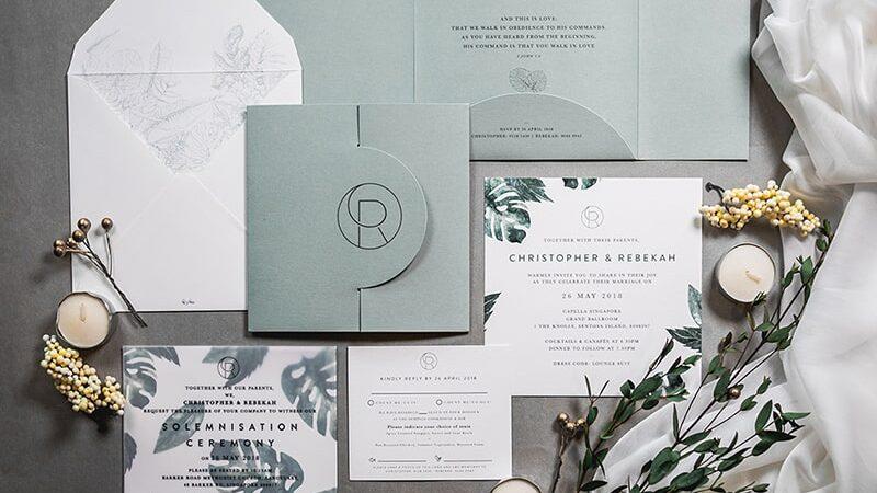 Mẫu thiết kế thiệp mời sự đẹp đẳng cấp