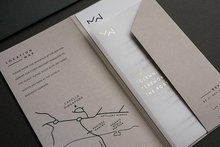 Thiết kế thiệp mời đẹp & ấn tượng