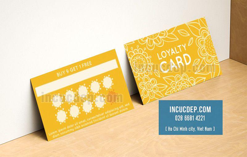 Thẻ tích điểm - cách tuyệt vời để lưu giữ khách hàng