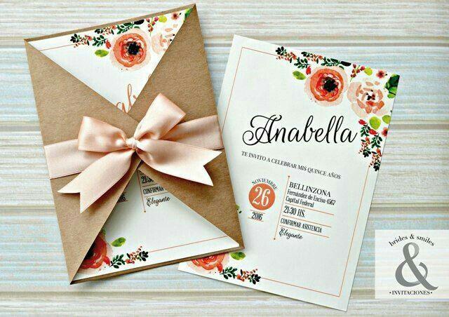 Kiểu in thiệp mời đẹp với chủ để hoa
