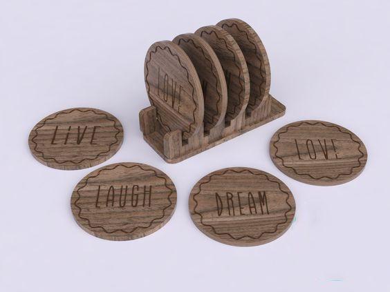 In lót ly gỗ giá rẻ tại TPHCM