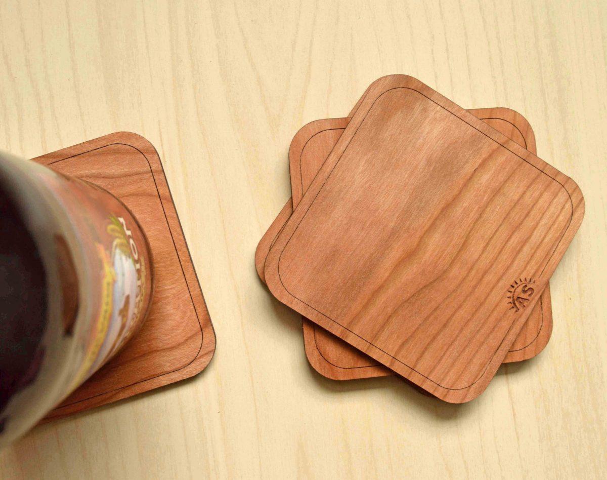 Chuyên cung cấp lót ly gỗ giá rẻ tphcm