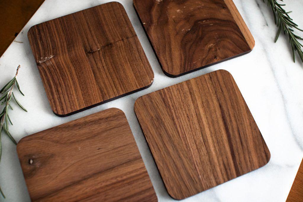 Công ty cung cấp lót ly gỗ giá rẻ đẹp