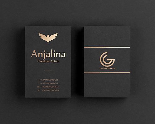 Mẫu thiết kế name card siêu đẹp với xu hướng tối giản