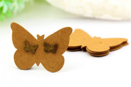 thẻ treo trang sức hình bướm