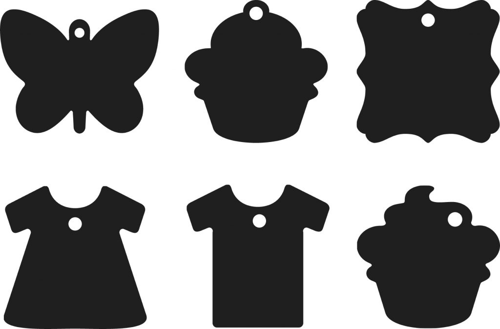 Một số mẫu tag treo cho shop thời trang