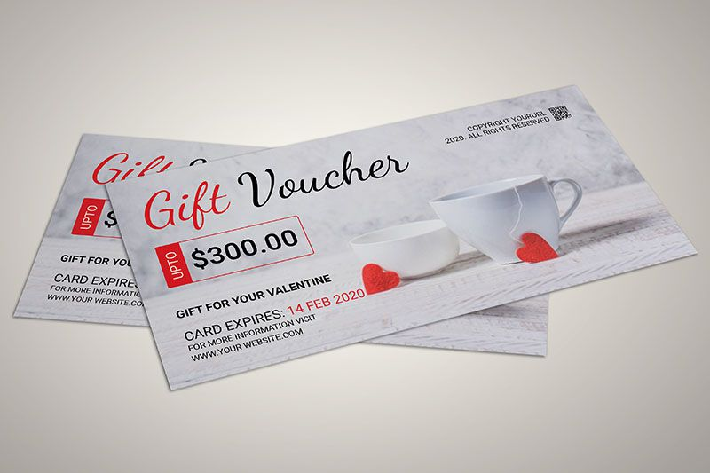 Phiếu quà tặng trị giá 300$ cho dịp lễ tình nhân