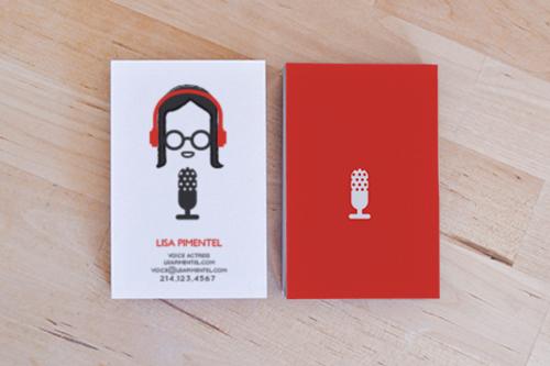 5 điều tuyệt vời của phong cách thiết kế danh thiếp đơn giản