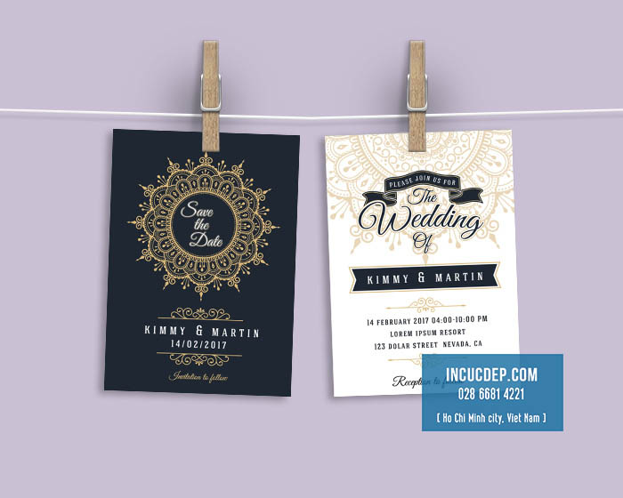 Làm thiệp cưới thêm ý nghĩa với mẫu thiệp mời đẹp