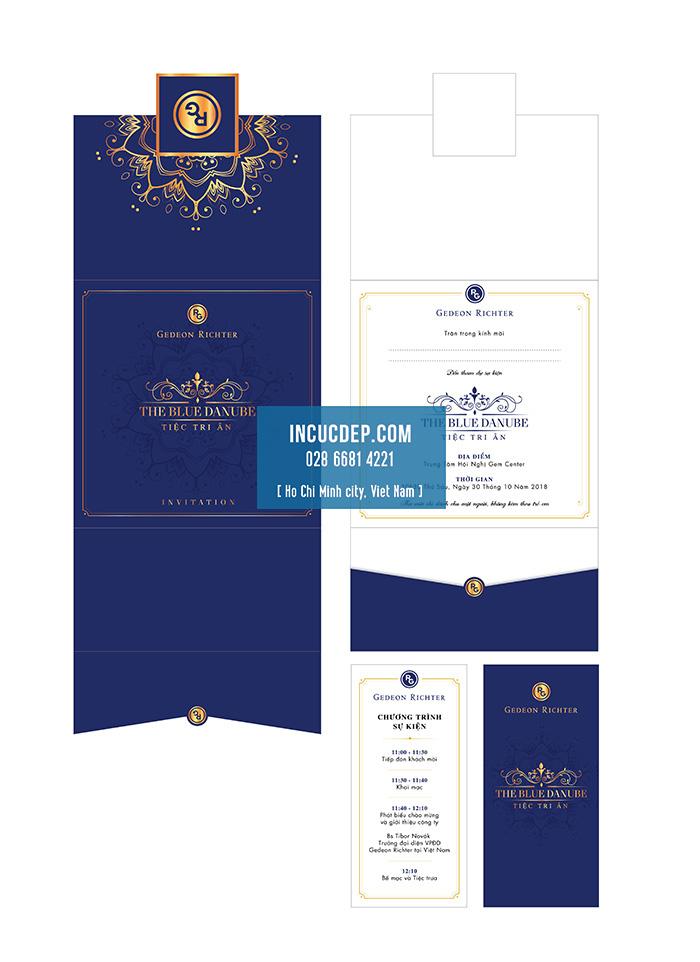 Bộ mẫu thiệp mời sự kiện chuyên nghiệp cho tiệc tri ân công ty