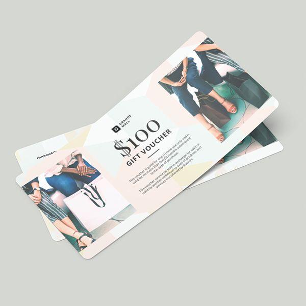 Bộ voucher đẹp cho shop thời trang