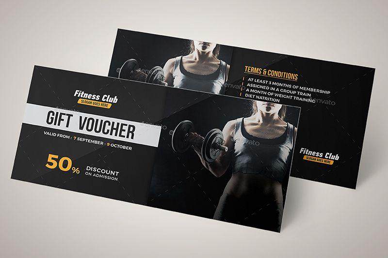 Gift voucher phòng gym cực kỳ cuốn hút