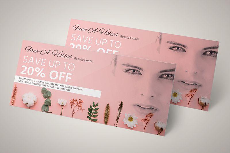 Thu hút khách hàng với tấm voucher thiết kế siêu đẹp
