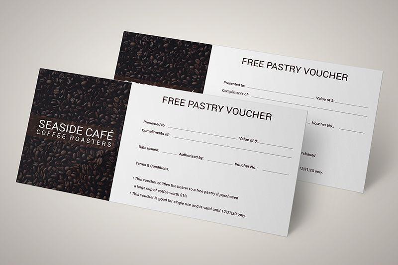 phiếu giảm giá dành cho cửa hàng cafe