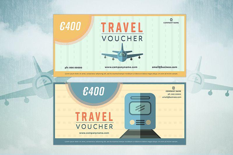 Thiết kế voucher theo phong cách hoạt hình