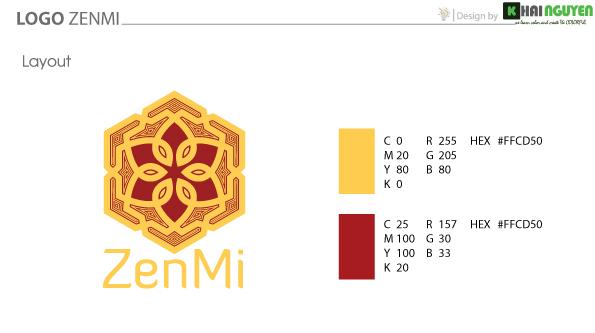 Thiết kế logo ZenMi - logo phong thủy chính hiệu