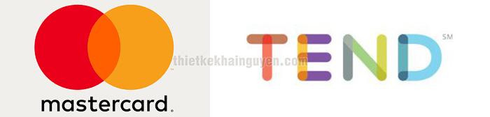Overlapping Gradient - kiểu thiết kế logo chồng màu