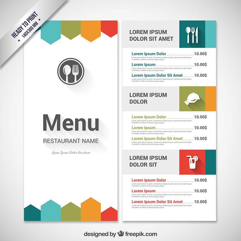 mau thiet ke menu vui nhon