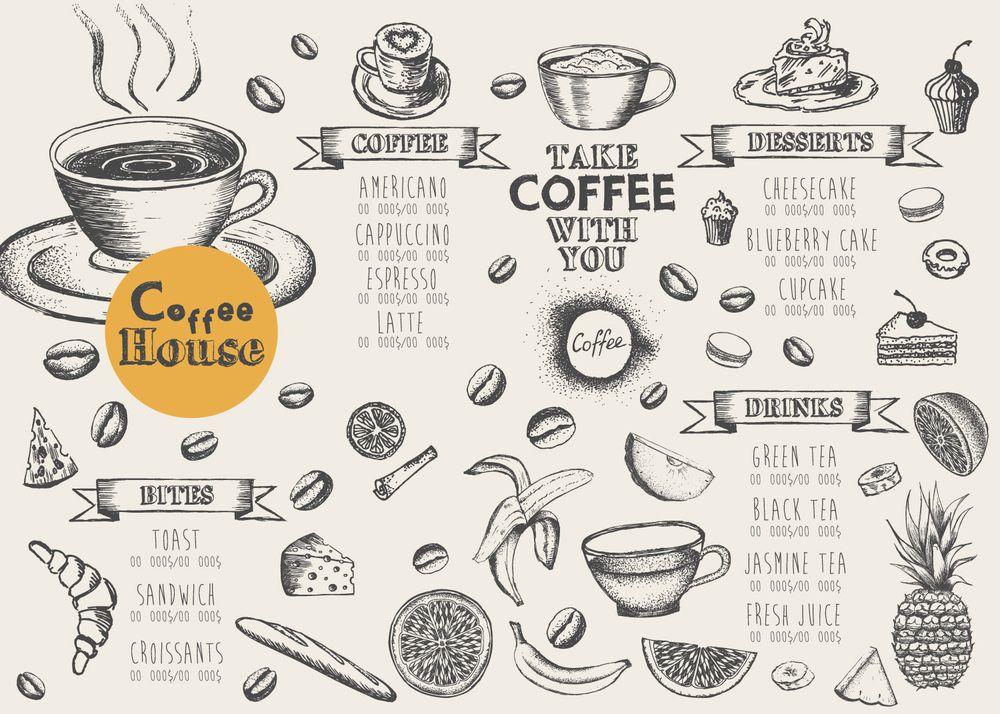Thiết kế menu coffee
