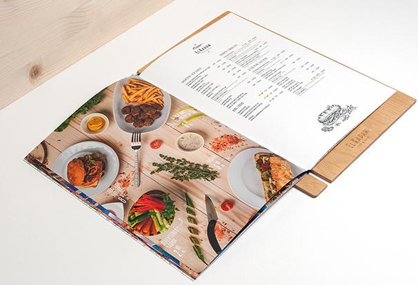 Bí quyết thiết kế menu nhà hàng ấn tượng
