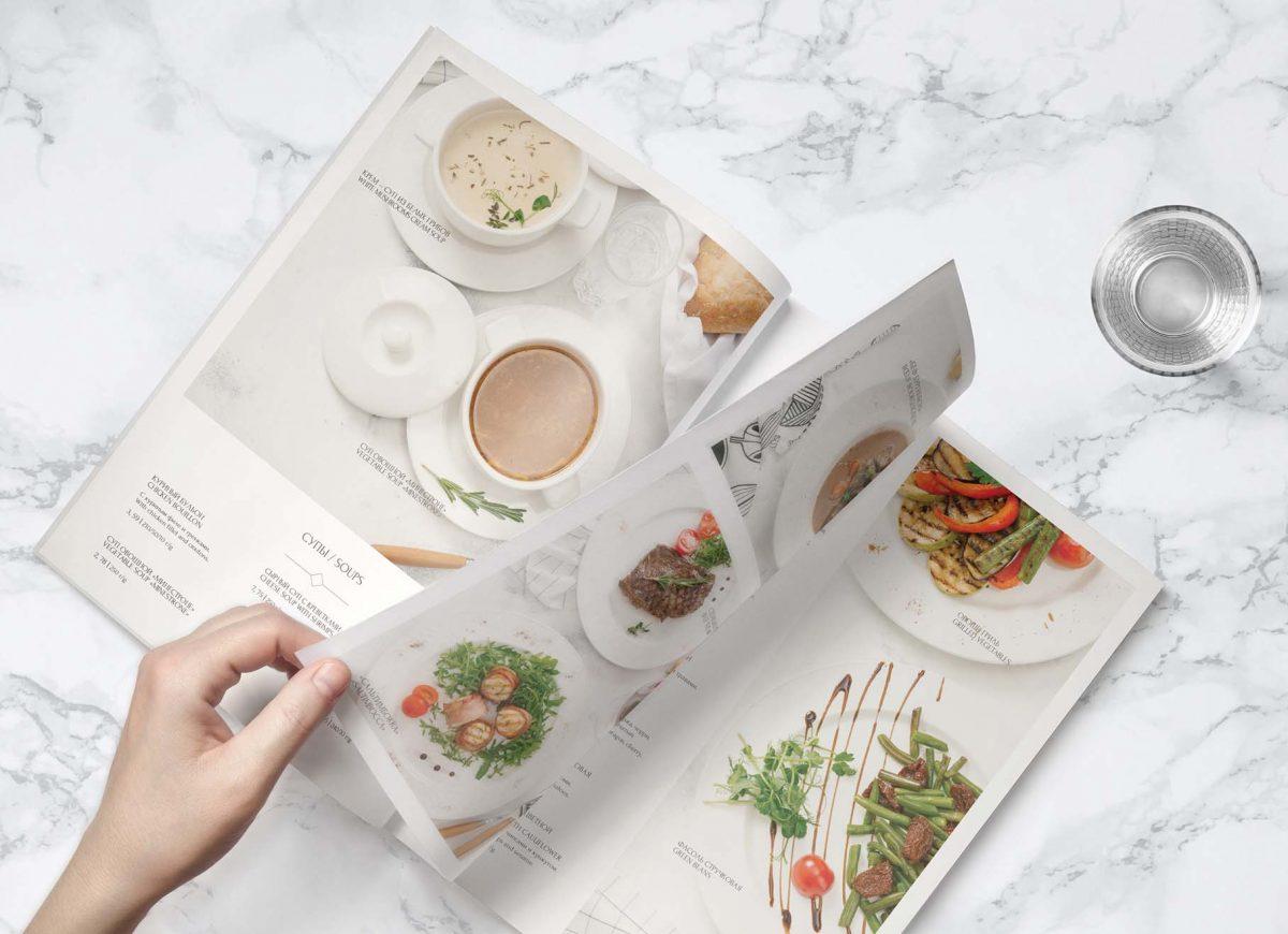 20 mẫu thiết kế menu nhà hàng siêu hút khách